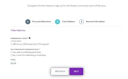 pardreamin registration form