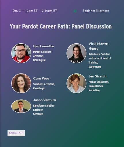 your pardot career path